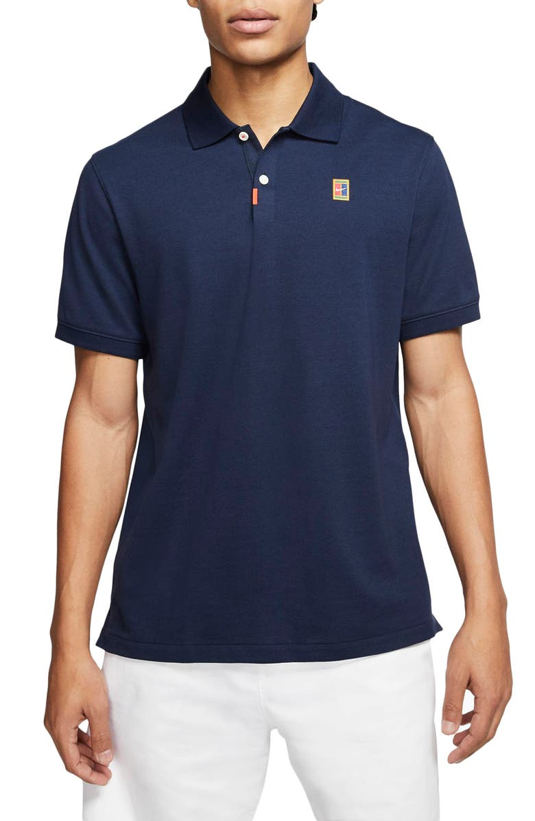 NIKE Court Dri-FIT Heritage Piqué Tennis Polo, Main, color, 451
