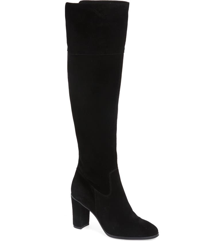 ARTURO CHIANG 'Mikayla' Over the Knee Boot, Main, color, 001
