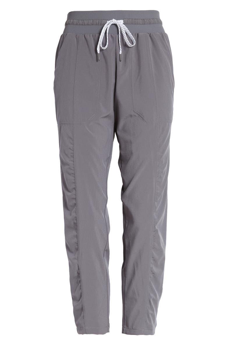 ZELLA Step-Up Crop Pants, Main, color, GREY SHADE
