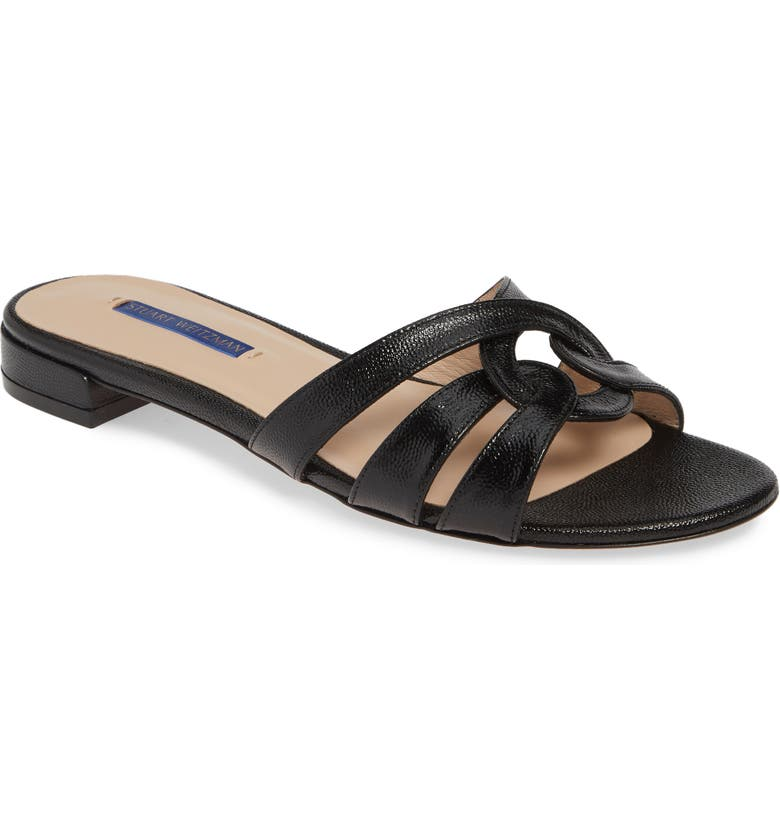 STUART WEITZMAN Cami Slide Sandal, Main, color, 002
