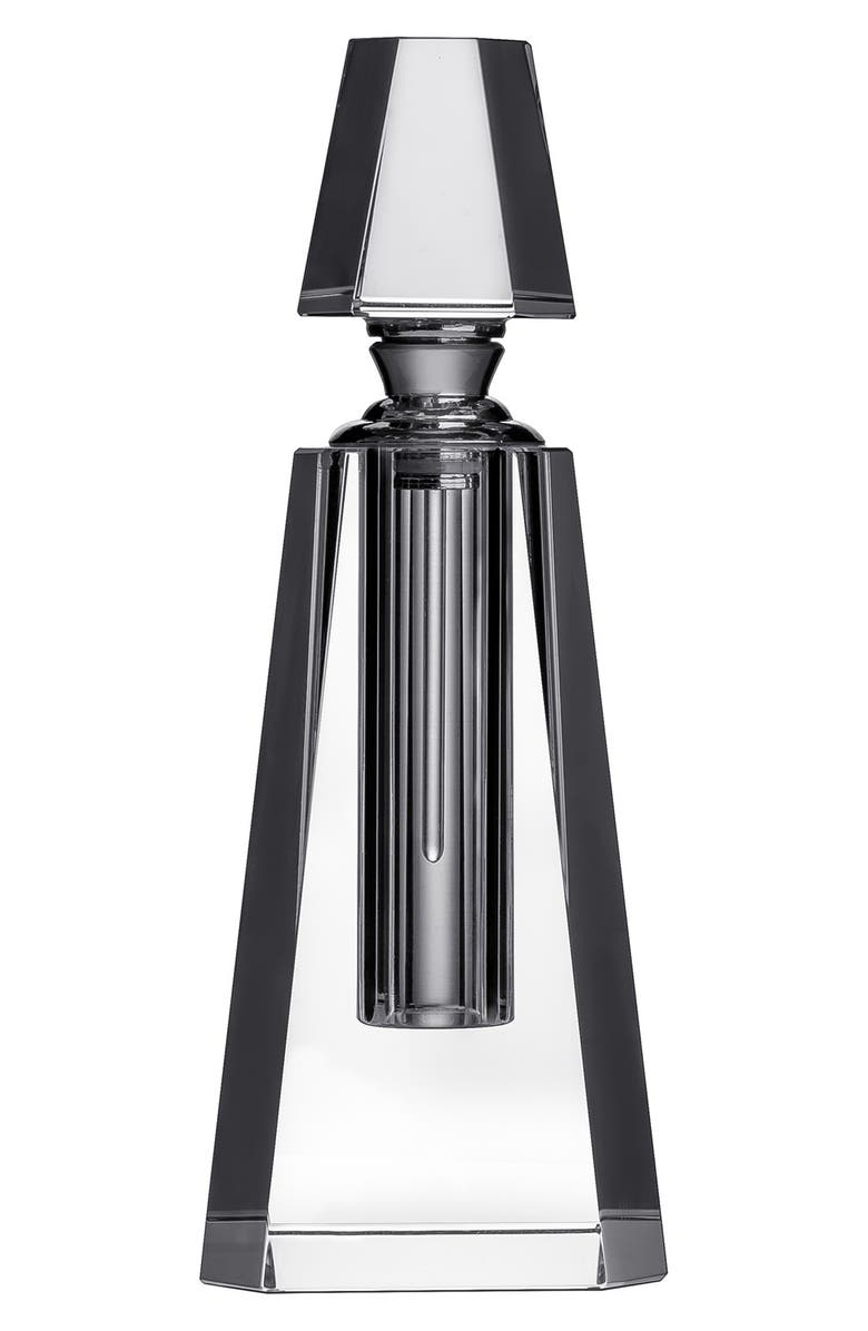 ORREFORS 'Ice' Pyramid Perfume Bottle, Main, color, CLEAR
