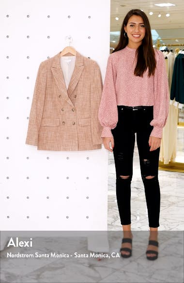 Marl Double Breasted Blazer, sales video thumbnail