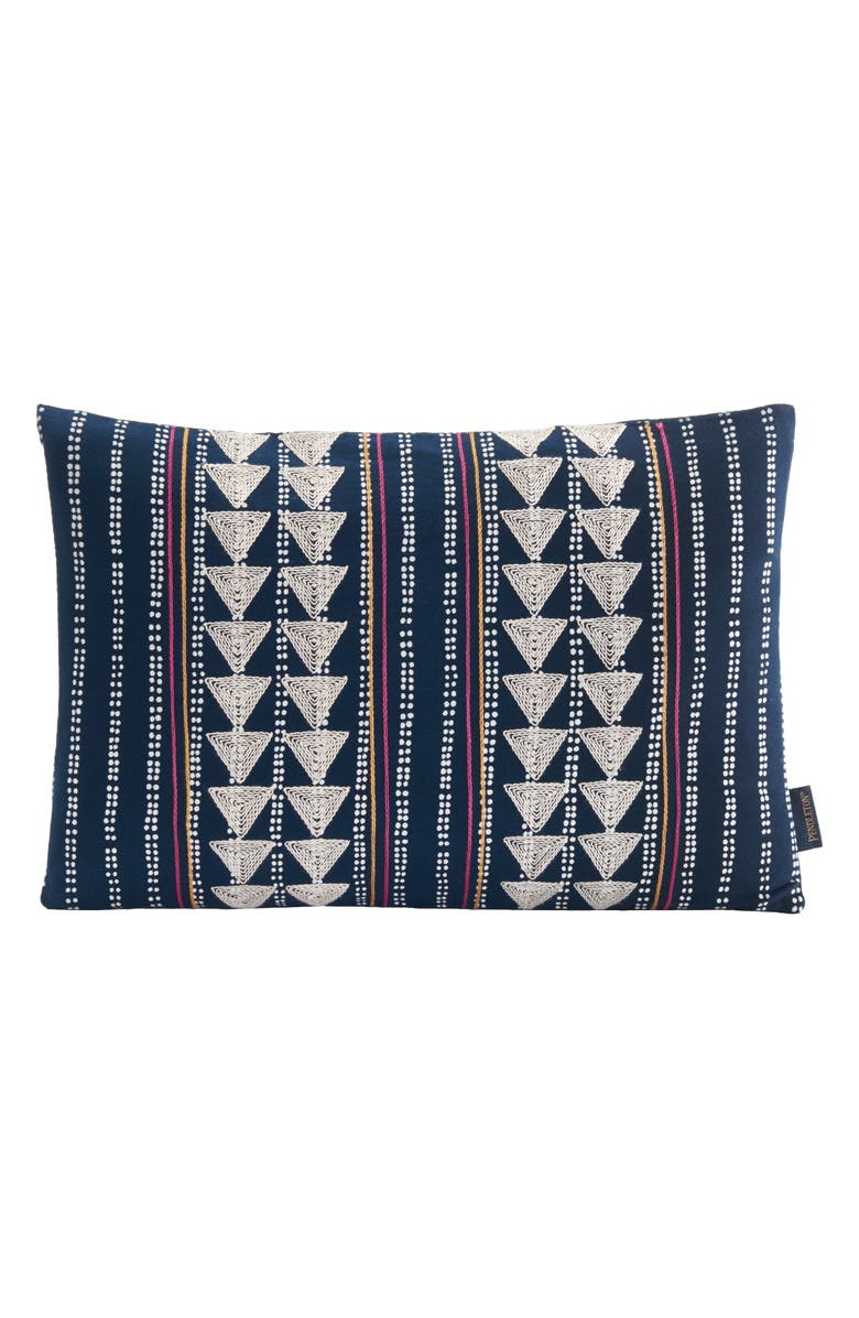 Pendleton Embroidered Print Accent Pillow