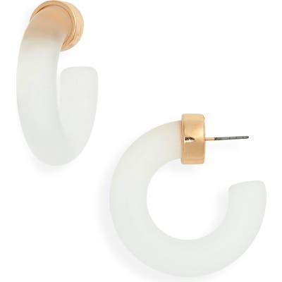 Bp. Frosted Hoop Earrings