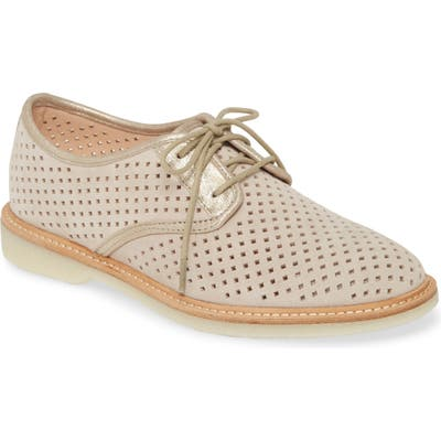 Johnston & Murphy Fiona Perforated Derby, Pink