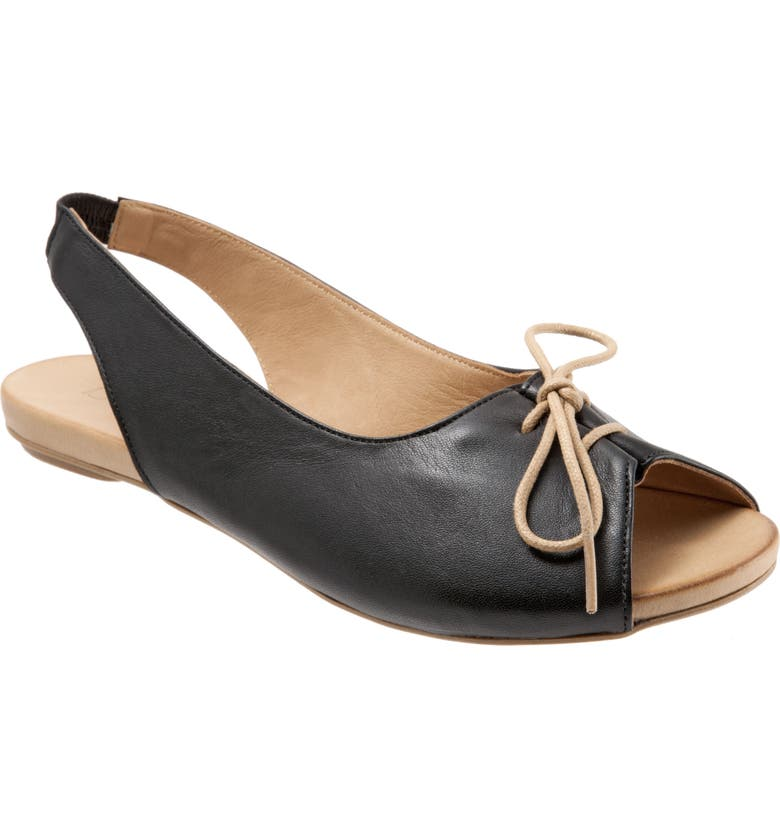 Keely Slingback Tie Sandal by Bueno