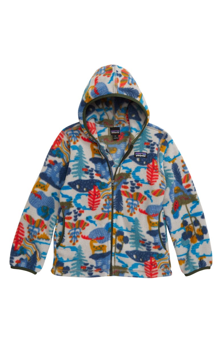 PATAGONIA Synchilla<sup>®</sup> Fleece Cardigan, Main, color, WANDER THE WOODS/ DRIFTER GREY