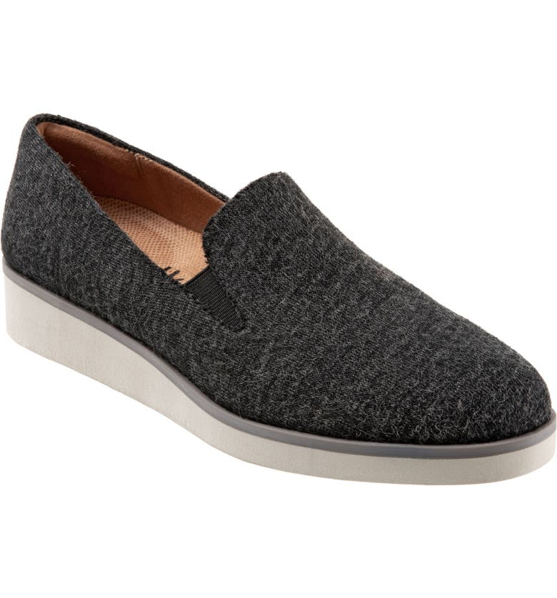 SOFTWALK<SUP>®</SUP> Whistle Slip-On, Main, color, GREY FABRIC
