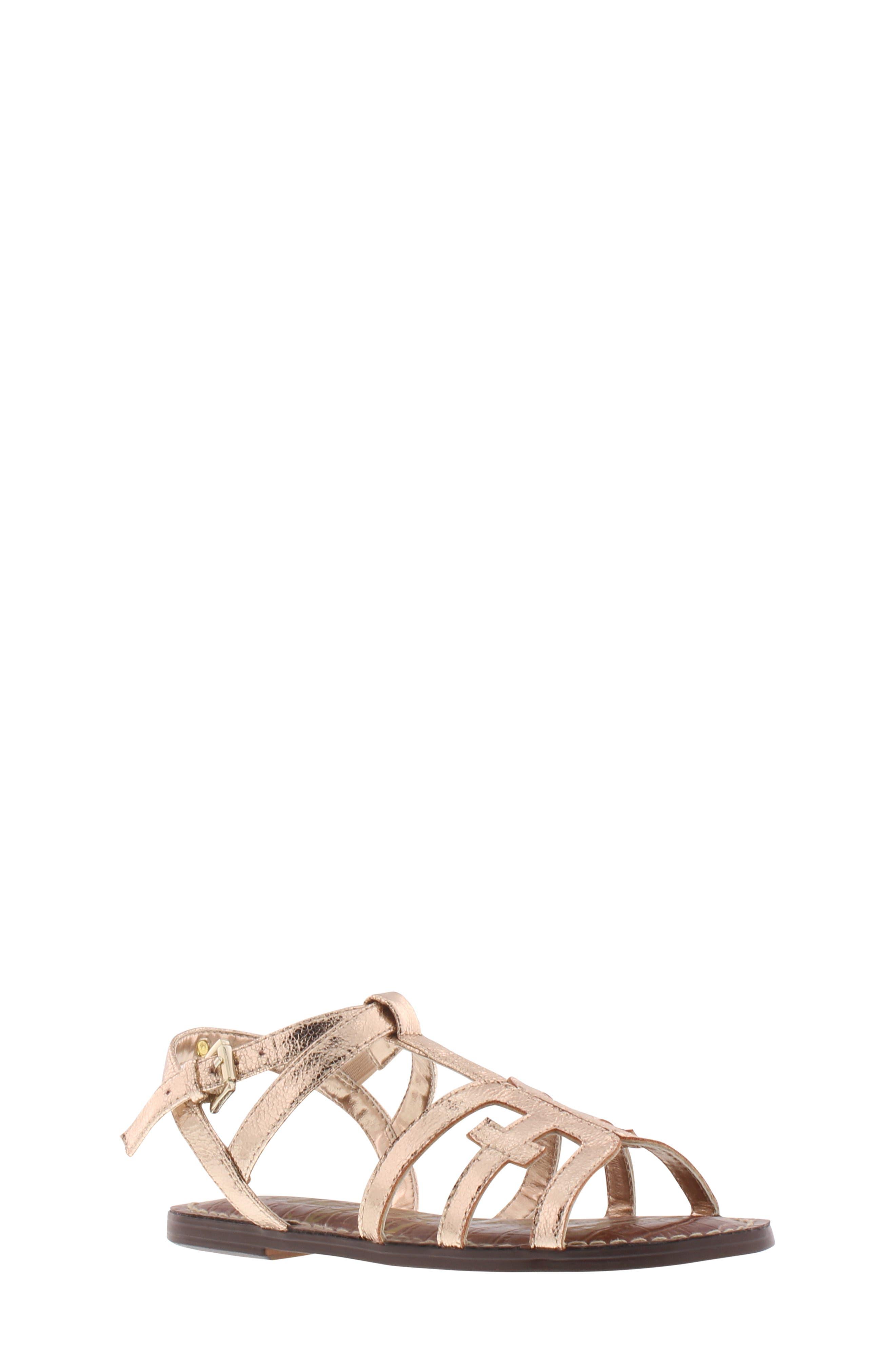 Girls Sam Edelman Gigi Cara Glitter Sandal