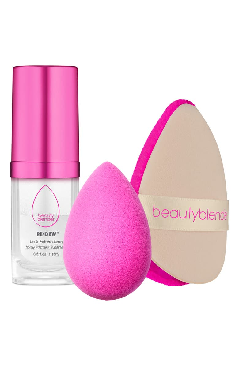 BEAUTYBLENDER<SUP>®</SUP> Glow All Night Set, Main, color, 000