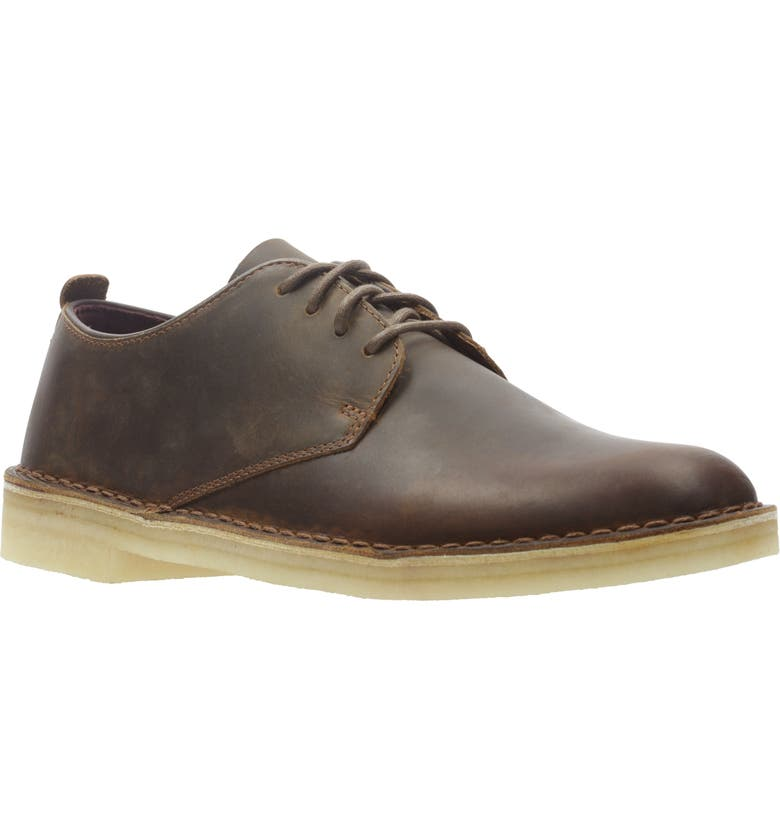 CLARKS<SUP>®</SUP> ORIGINALS 'Desert London' Oxford, Main, color, BEESWAX BROWN