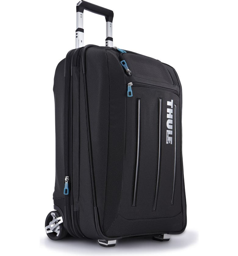 THULE Crossover Rolling 23-Inch Suitcase with Garment Bag, Main, color, 001