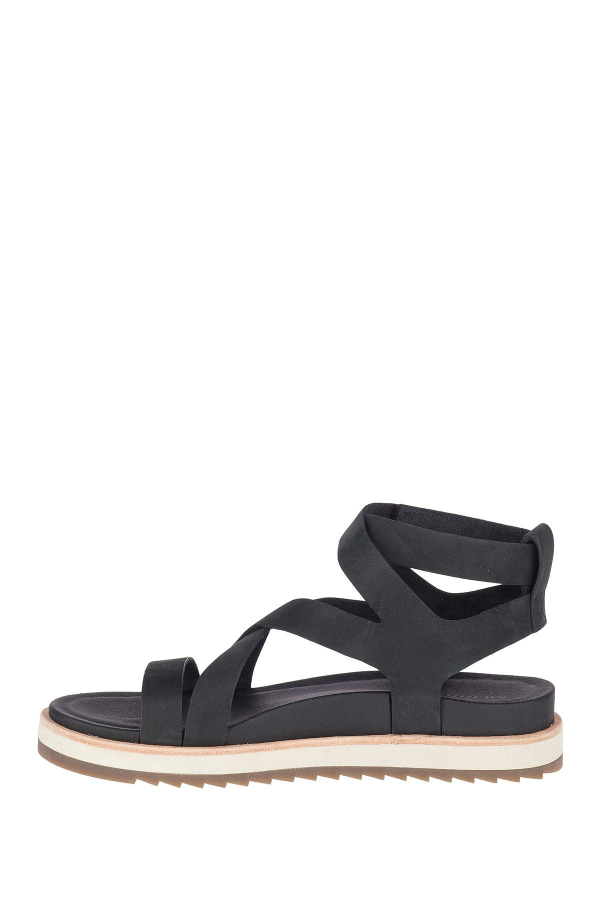 Image of Merrell Juno Mid Leather Strappy Sandal