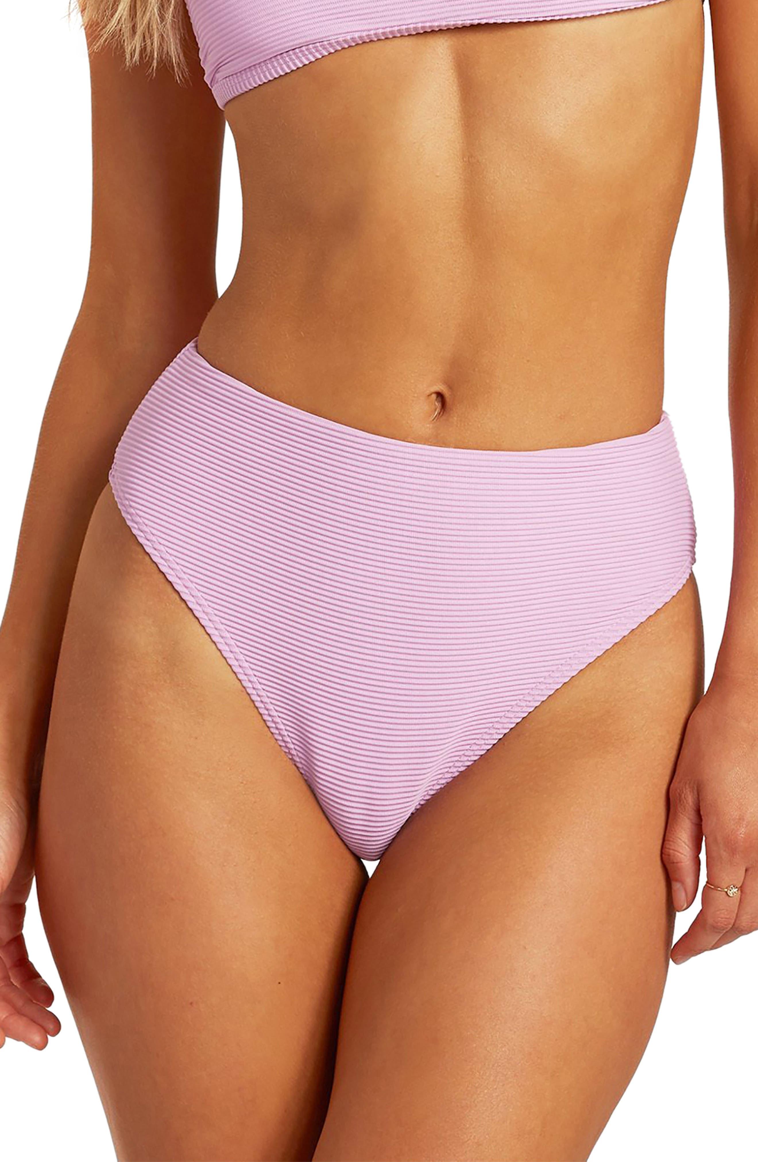 Tanlines Maui High Waist Bikini Bottoms