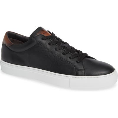 To Boot New York Knox Low Top Sneaker- Black
