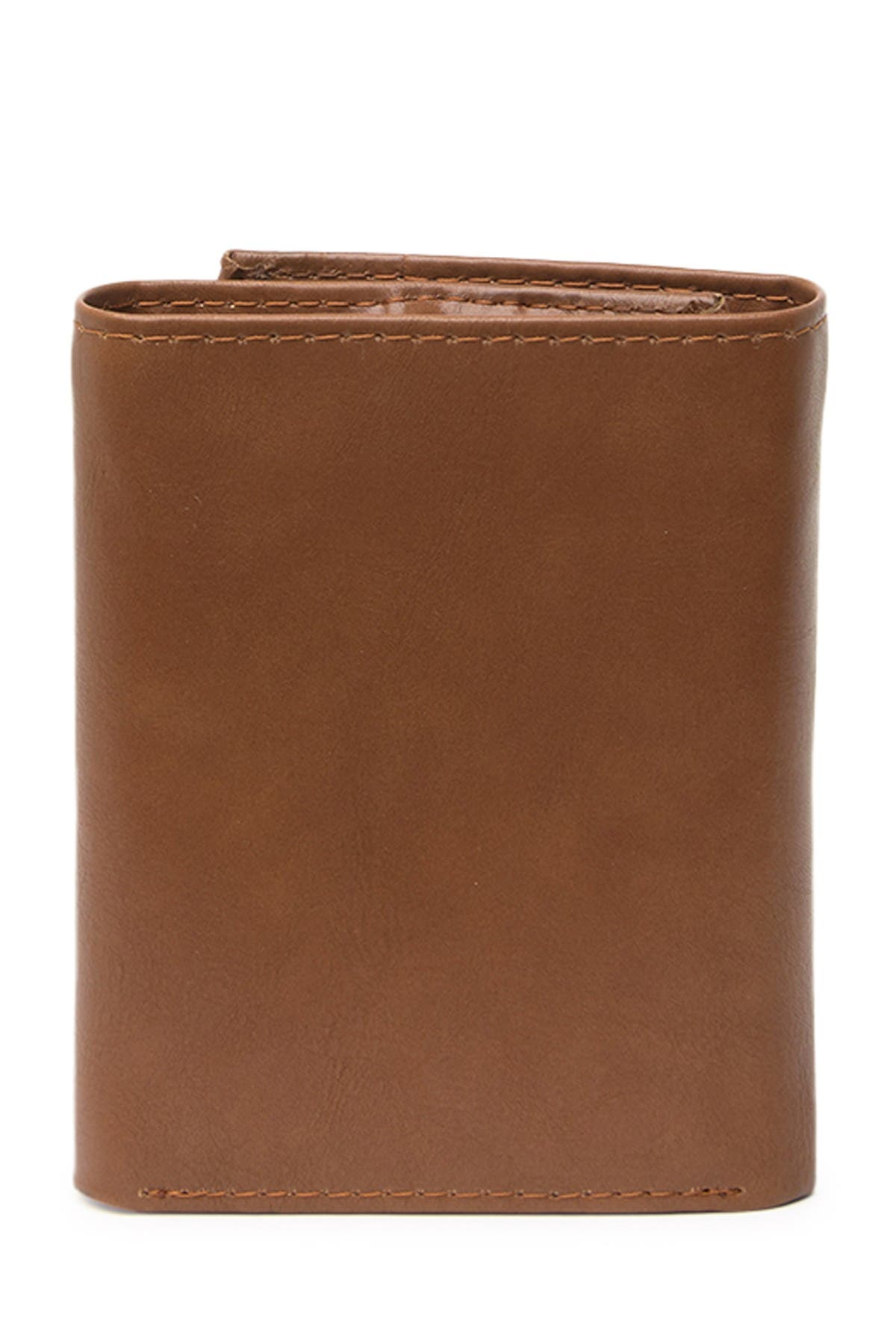 Image of KENNETH COLE Leather Trifold Wallet