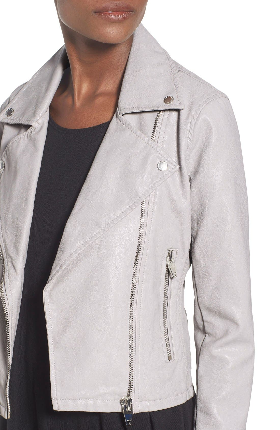 ,                             Faux Leather Moto Jacket,                             Alternate thumbnail 11, color,                             020