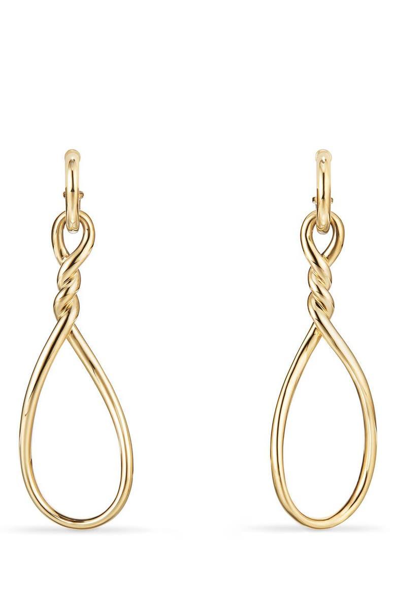 DAVID YURMAN Continuance Drop Earrings, Main, color, YELLOW GOLD