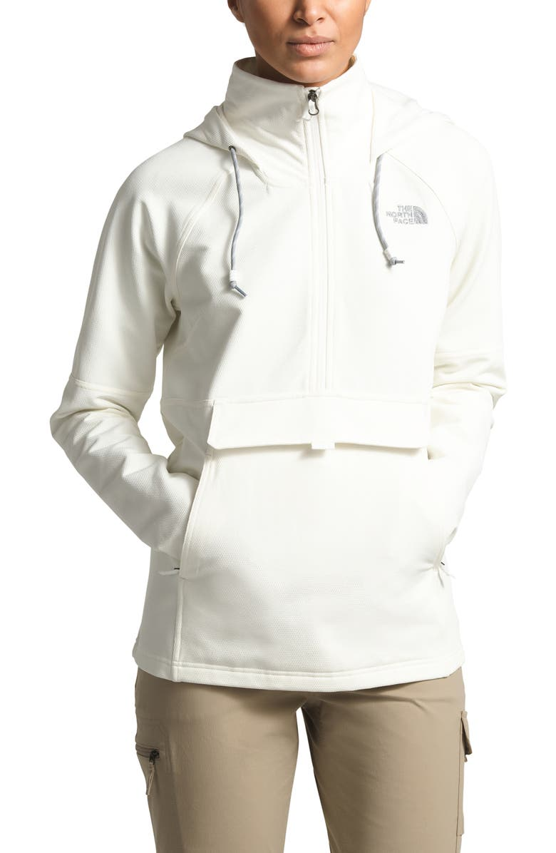 THE NORTH FACE Tekno Ridge Hoodie, Main, color, TNF WHITE/ TNF WHITE