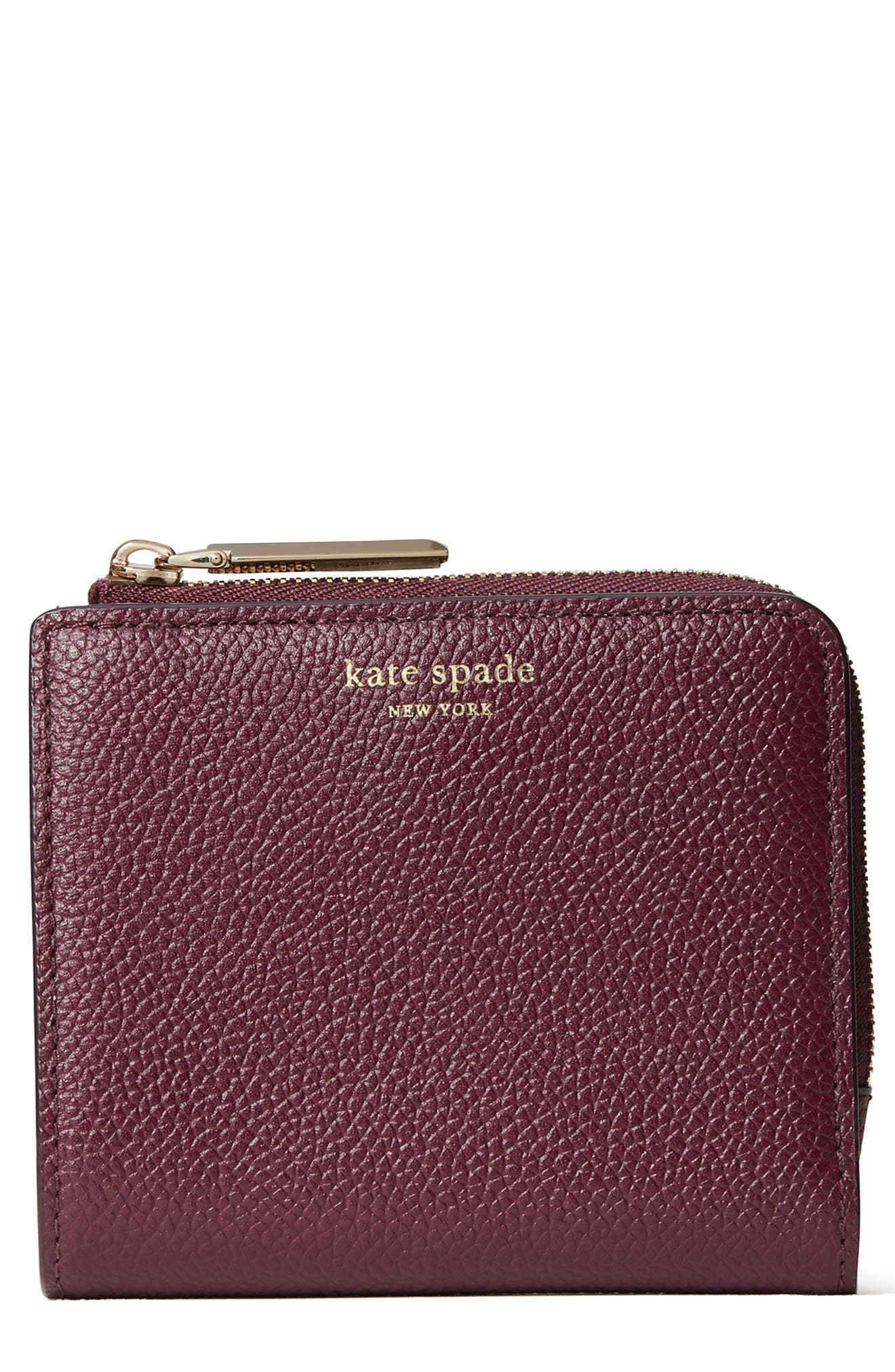 Image of kate spade new york margaux leather bifold wallet