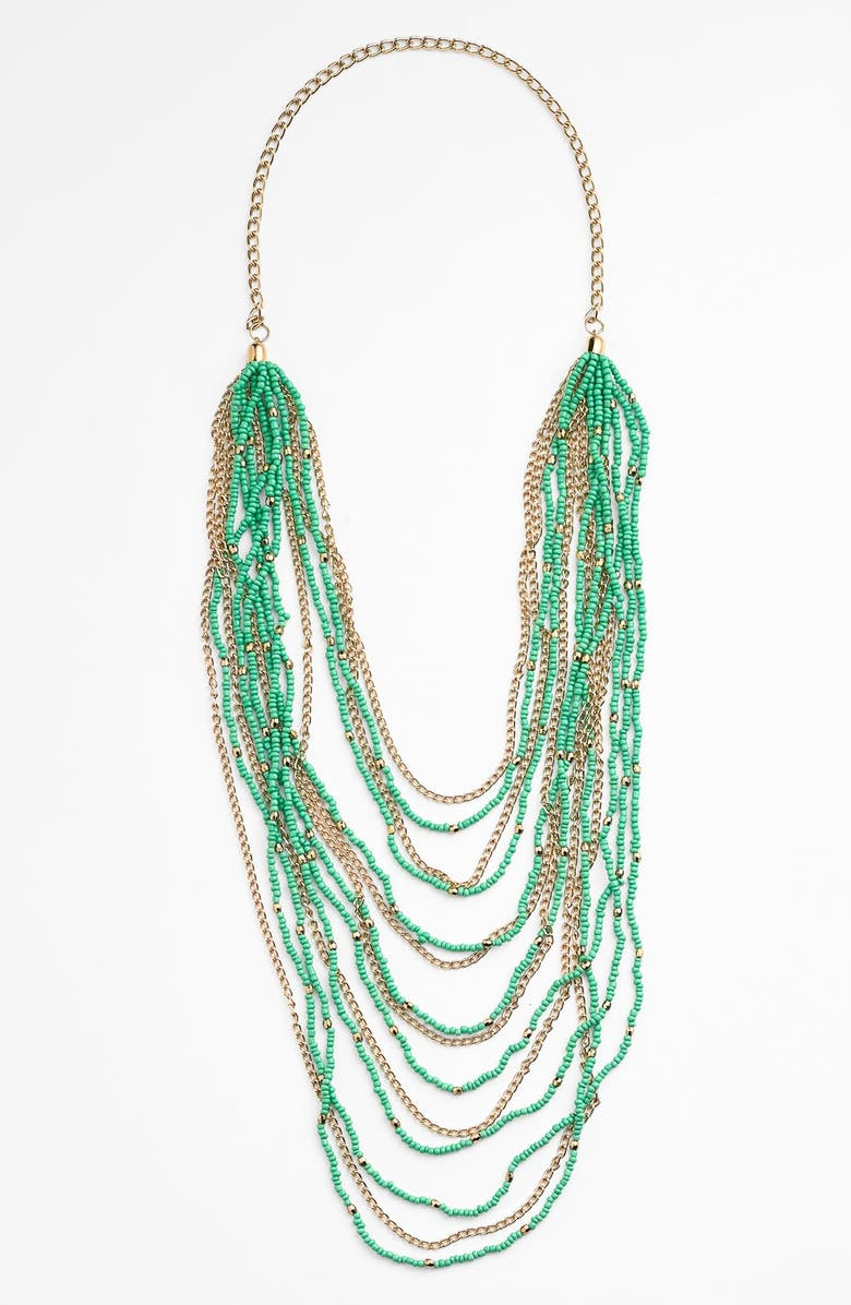 BP. Beaded Layered Necklace, Main, color, 300