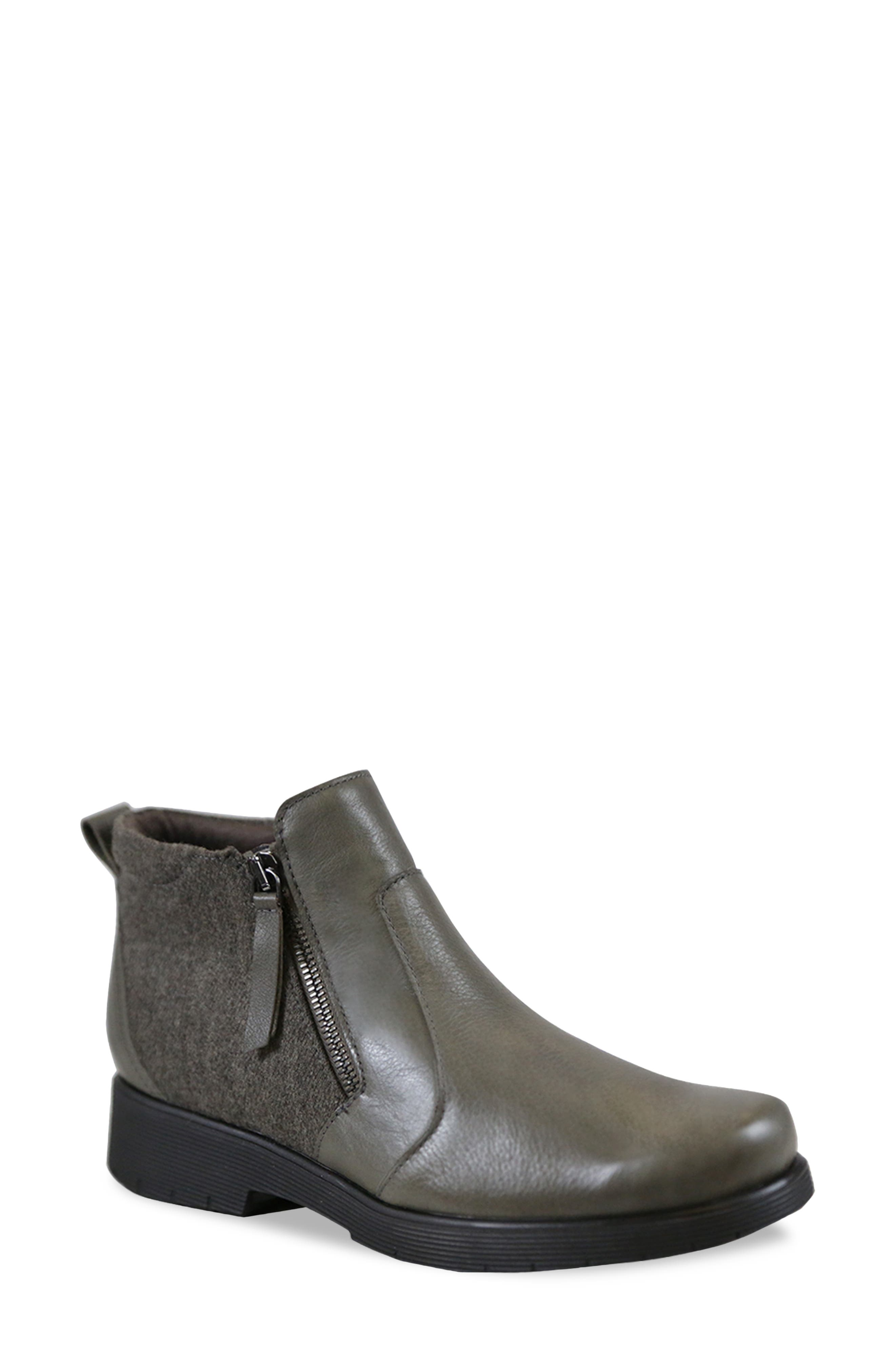 Keep feet cool, dry and comfortable in a versatile bootie lined with moisture-wicking technology and set on a durable, all-weather sole. Style Name: Munro Bonnie Bootie (Women). Style Number: 6093590. Available in stores.