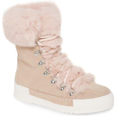 Cecelia New York Faux Fur Boot, Ivory