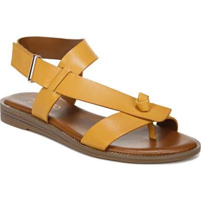 Franco Sarto Glenni Sandal, Yellow