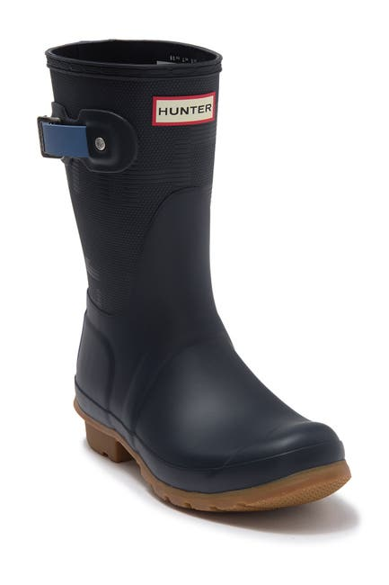 Image of Hunter Original Short Exploded Logo Rain Boot