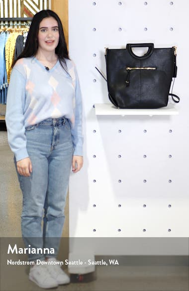 Duff Faux Leather Tote, sales video thumbnail