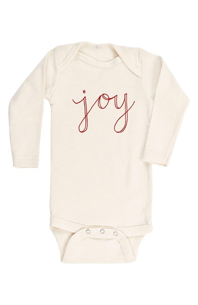 TENTH & PINE Joy Organic Cotton Bodysuit, Main, color, 900