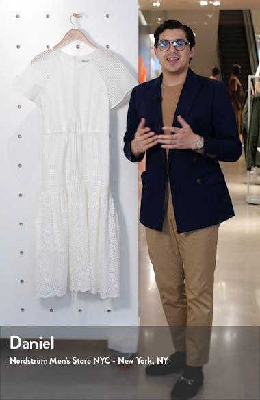 Marlowe Eyelet Midi Dress, sales video thumbnail