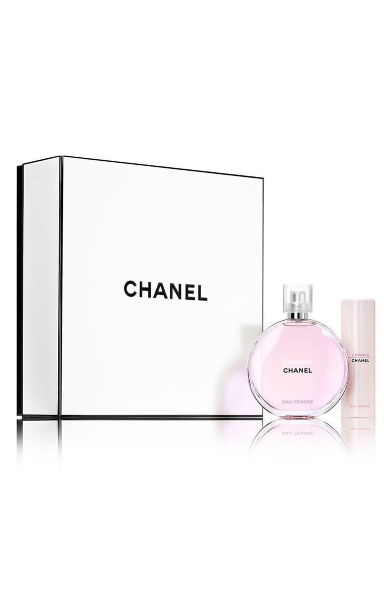 Image result for chanel chance travel set