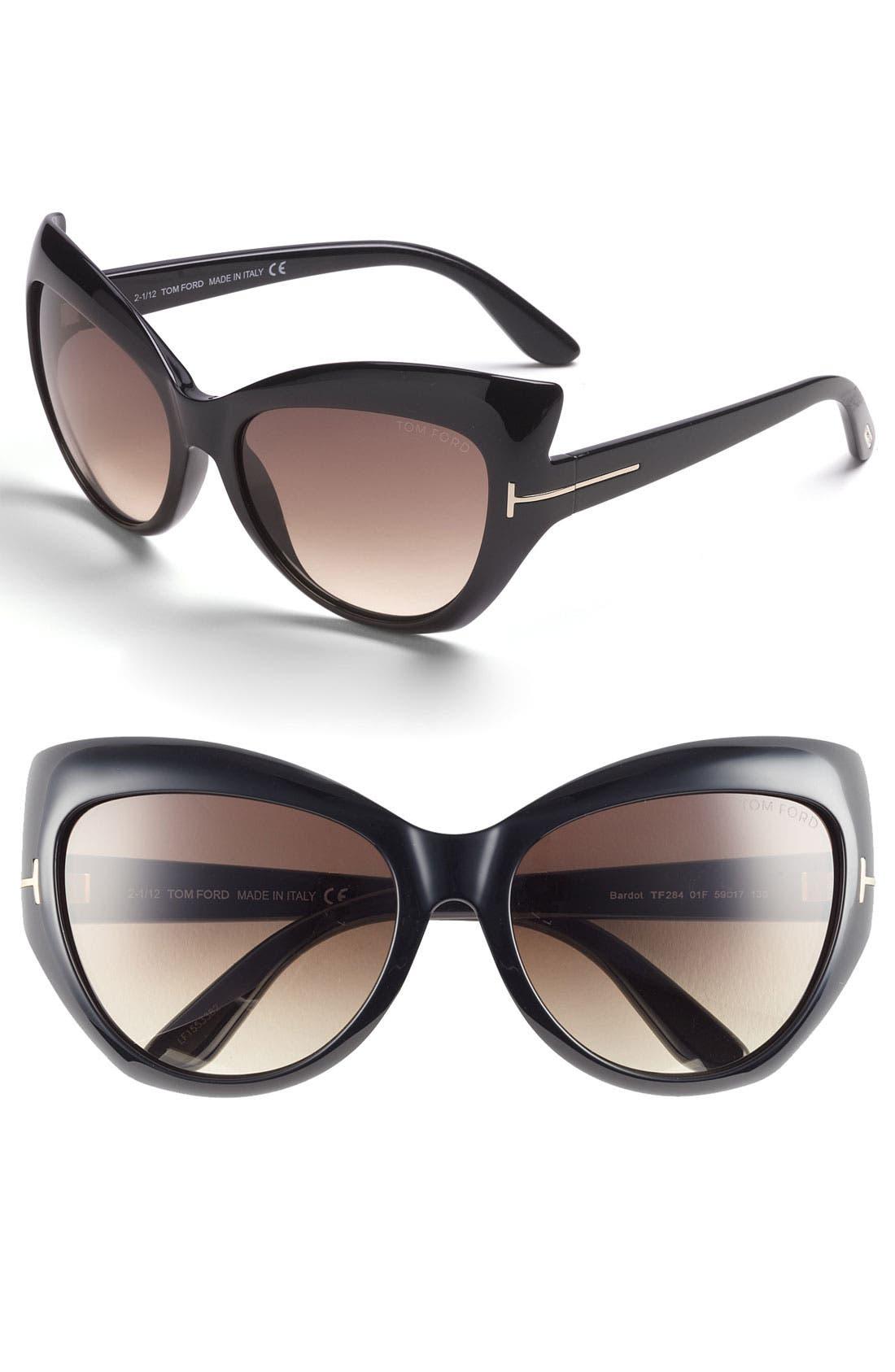 ,                             59mm Sunglasses,                             Main thumbnail 1, color,                             001