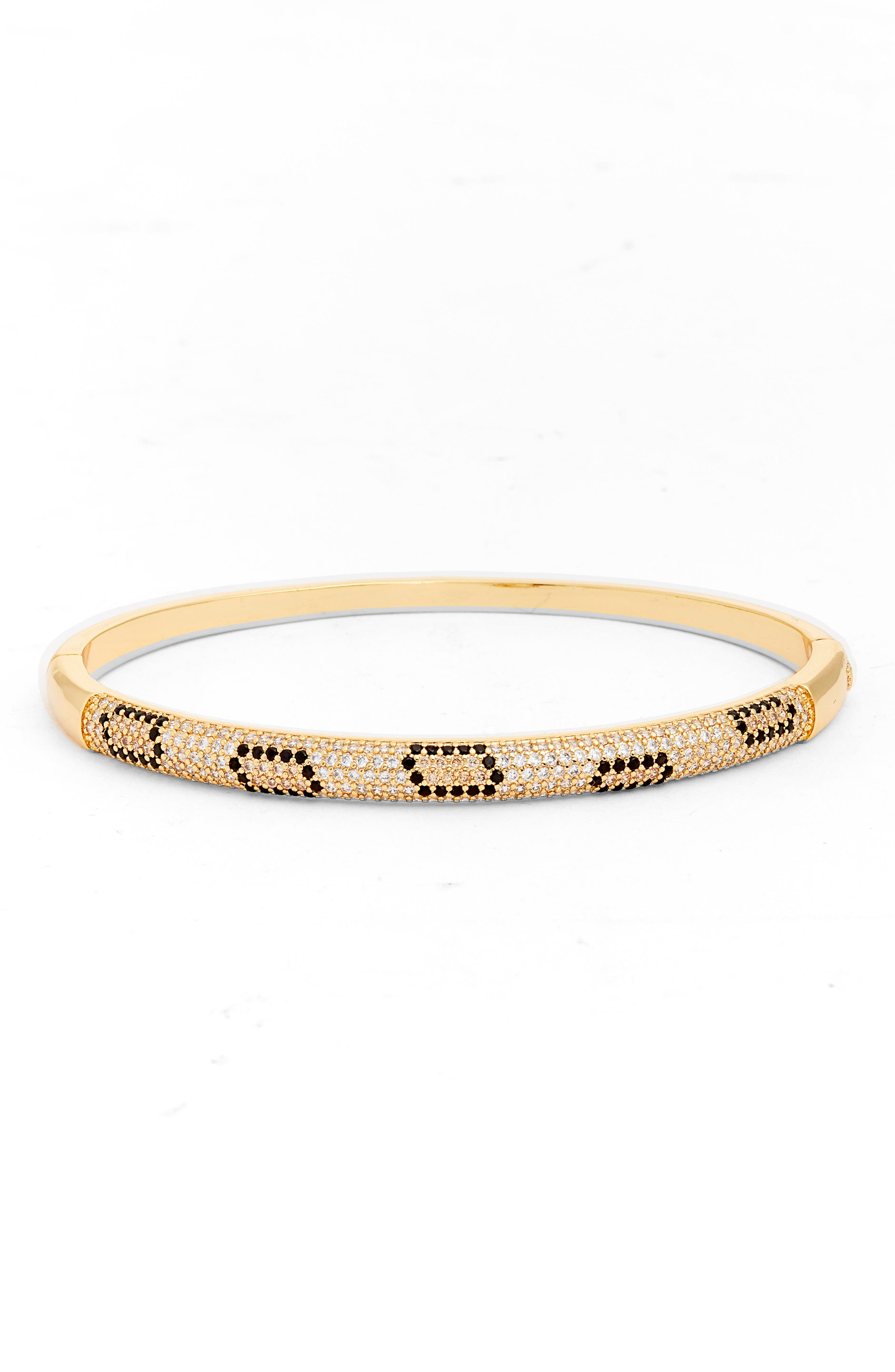 Leopard Cubic Zirconia Bangle