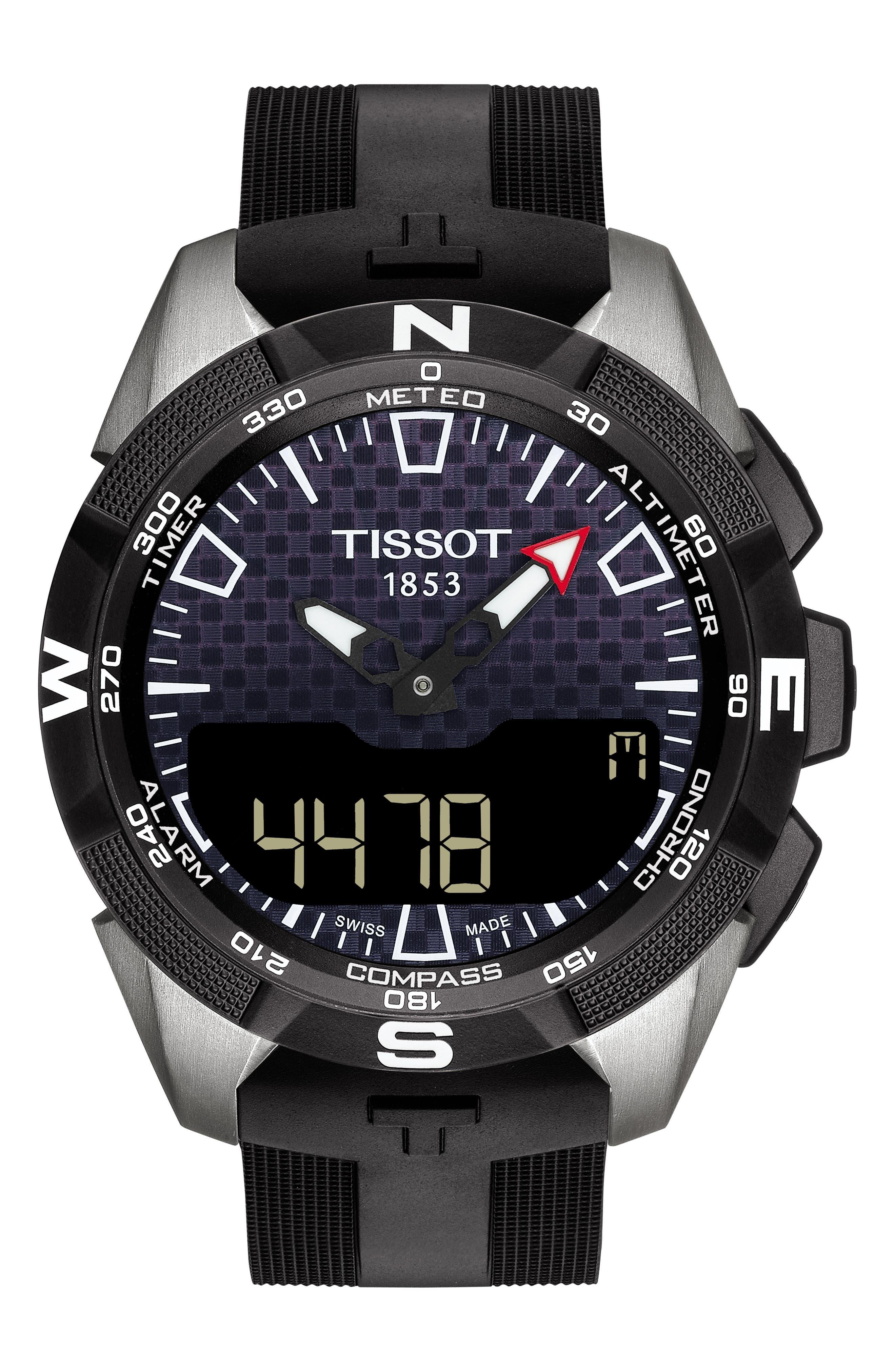 Image of Tissot Men's T-Tech Solar II Watch, 45mm