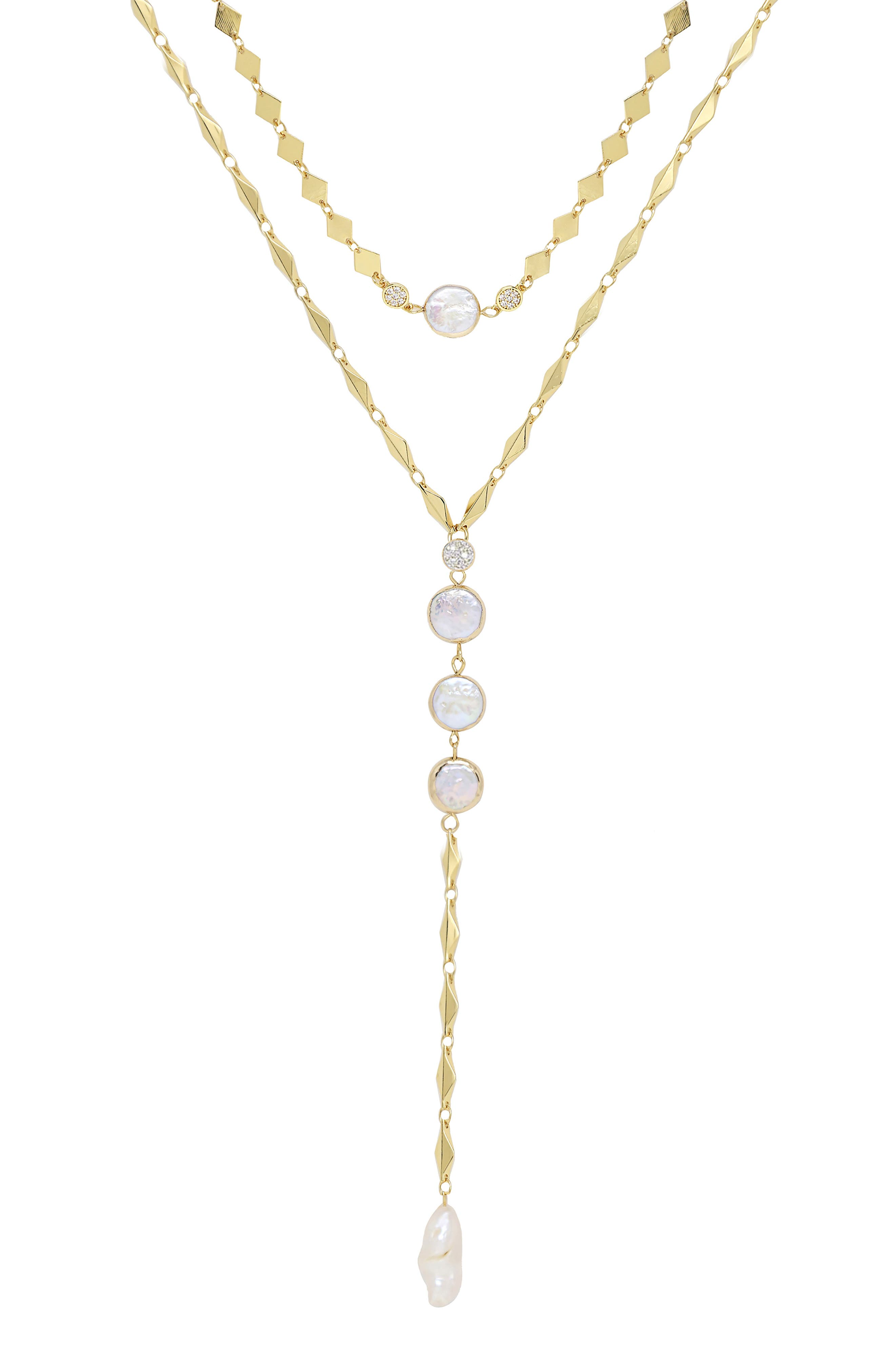 Set Of 2 Pearl Necklaces