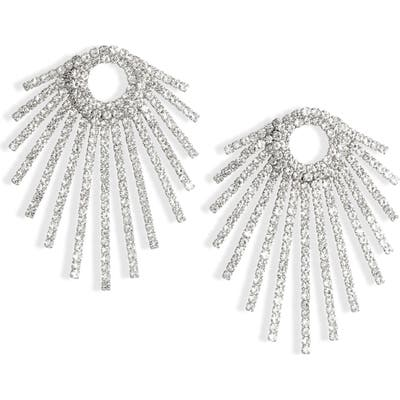 Cristabelle Crystal Ray Statement Earrings