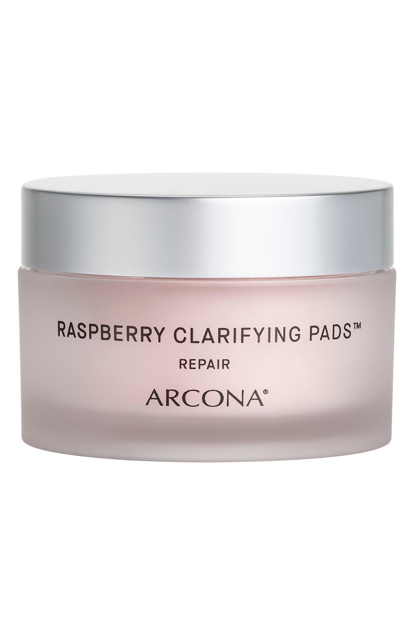 Raspberry Clarifying Pads Blemish Reducing Face Toner Pads
