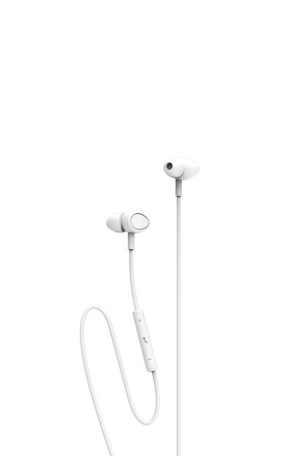 Image of Tzumi White Dynamic Earbuds with Lightning Port for Apple Devices