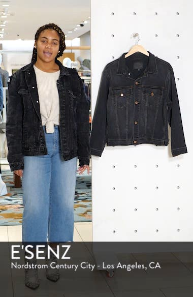 Axel Oversize Denim Trucker Jacket, sales video thumbnail