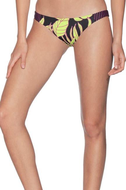 Image of Maaji Naya Flirt Floral Stripe Bikini Bottoms
