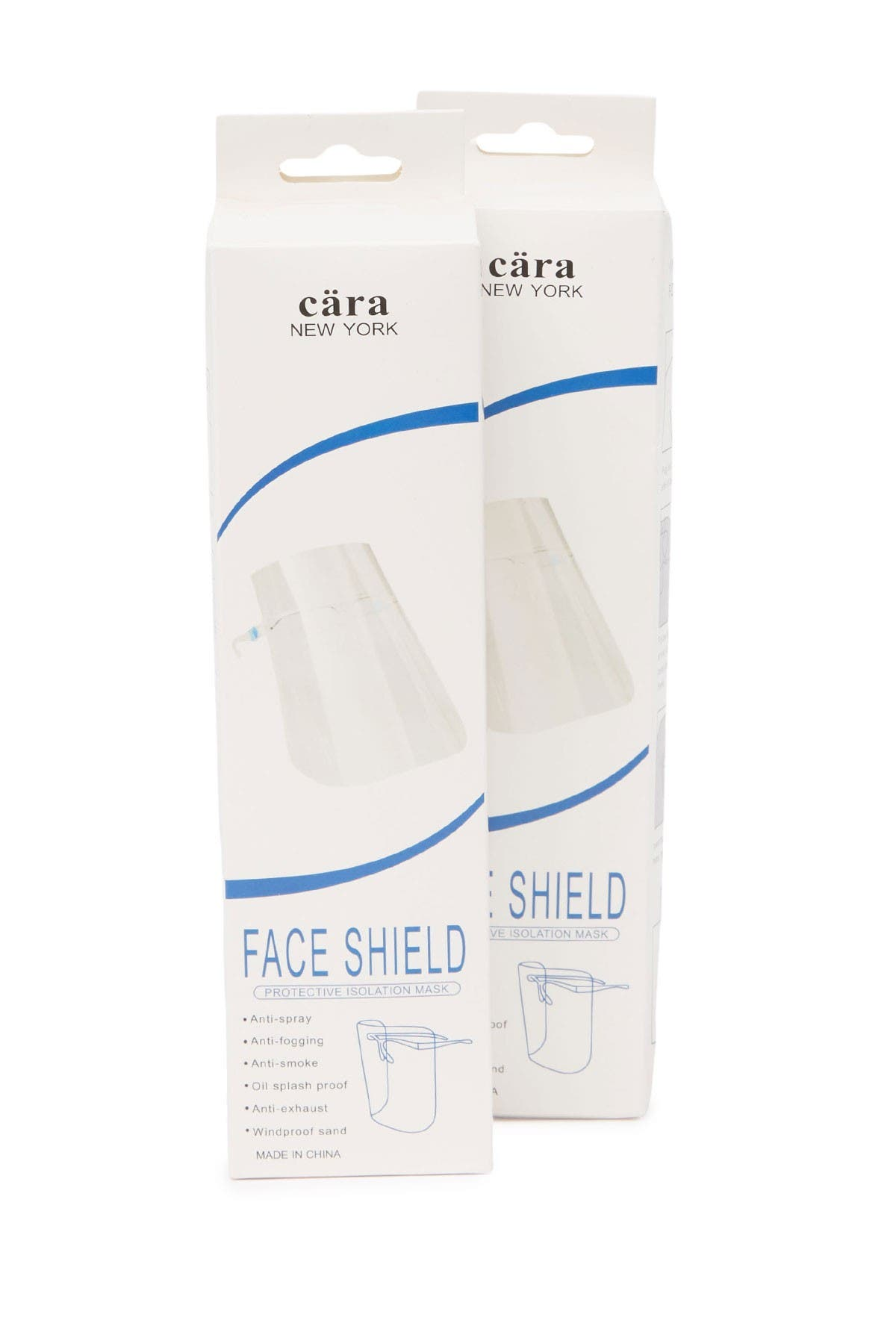 Image of Cara Accessories Face Shield - Pack of 2