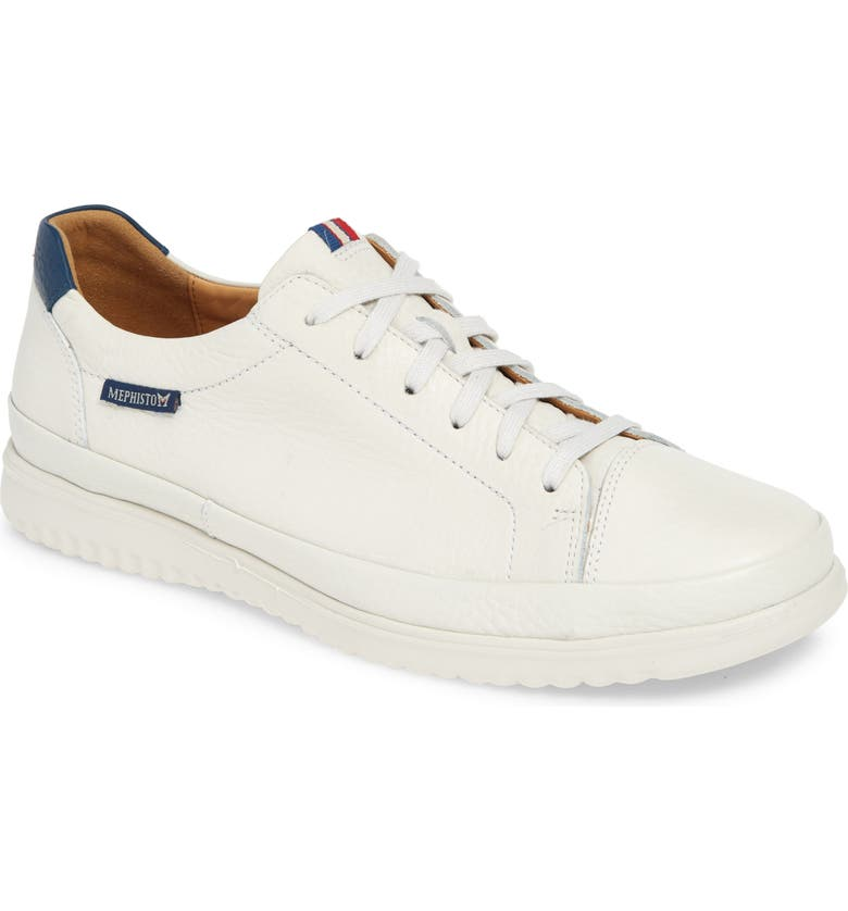 MEPHISTO Thomas Sneaker, Main, color, WHITE LEATHER
