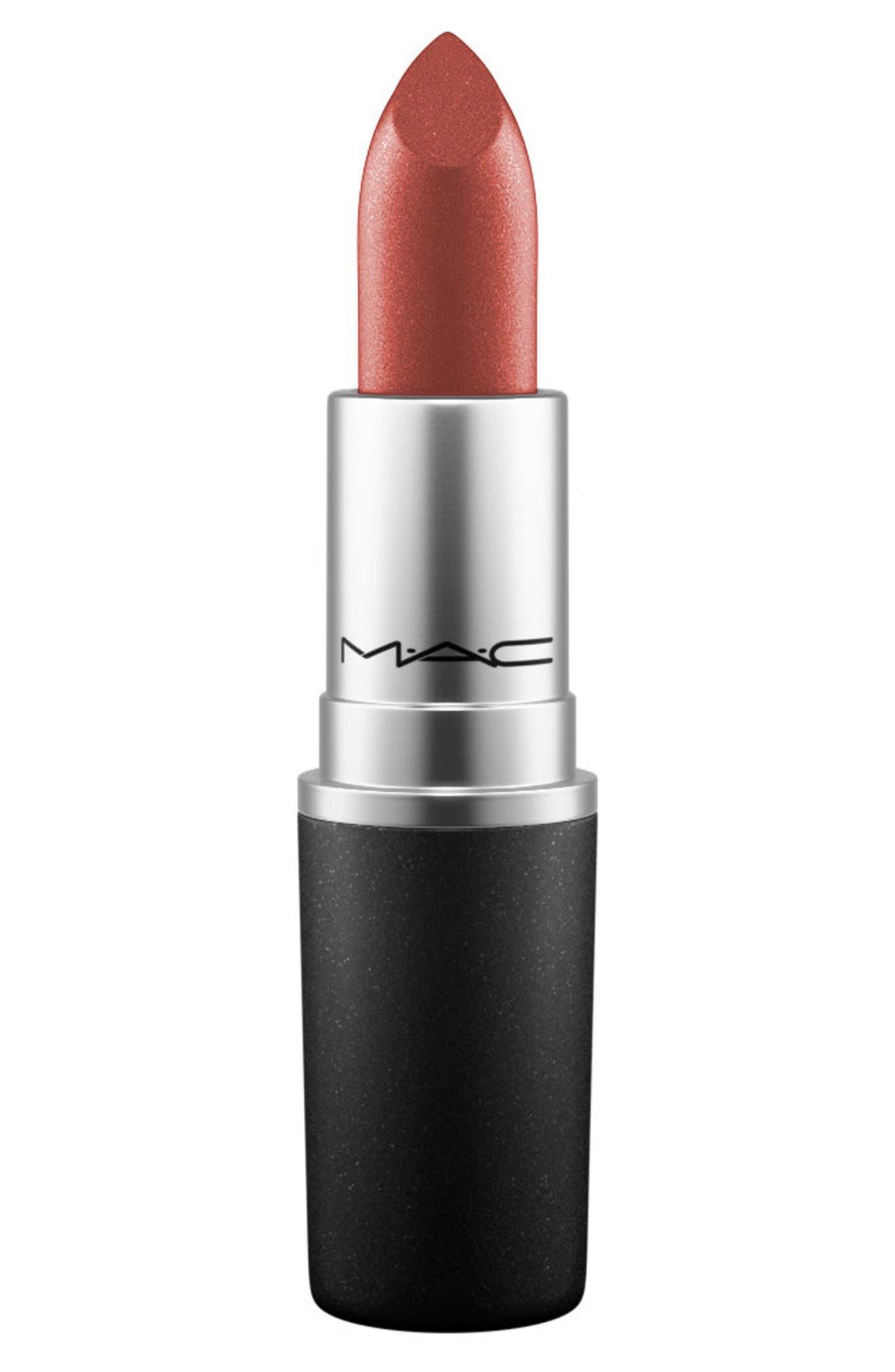 ,                             MAC Strip Down Nude Lipstick,                             Main thumbnail 205, color,                             235