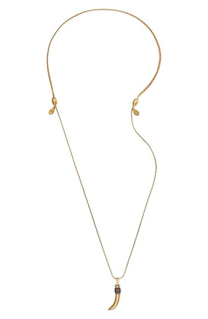 Image of Alex and Ani Horn Pendant Expandable Necklace