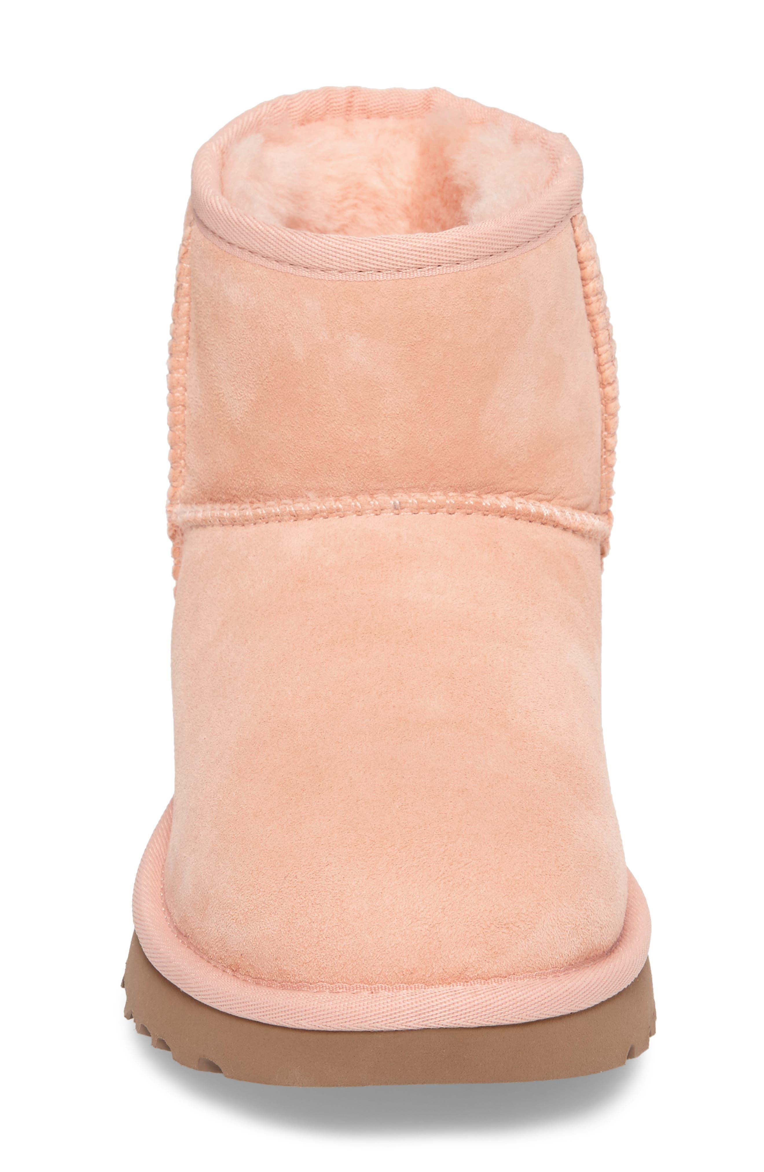 ,                             Classic Mini II Genuine Shearling Lined Boot,                             Alternate thumbnail 100, color,                             950