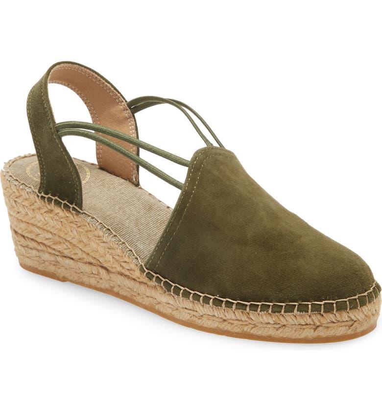 TONI PONS 'Tremp' Slingback Espadrille Sandal, Main, color, KHAKI FABRIC