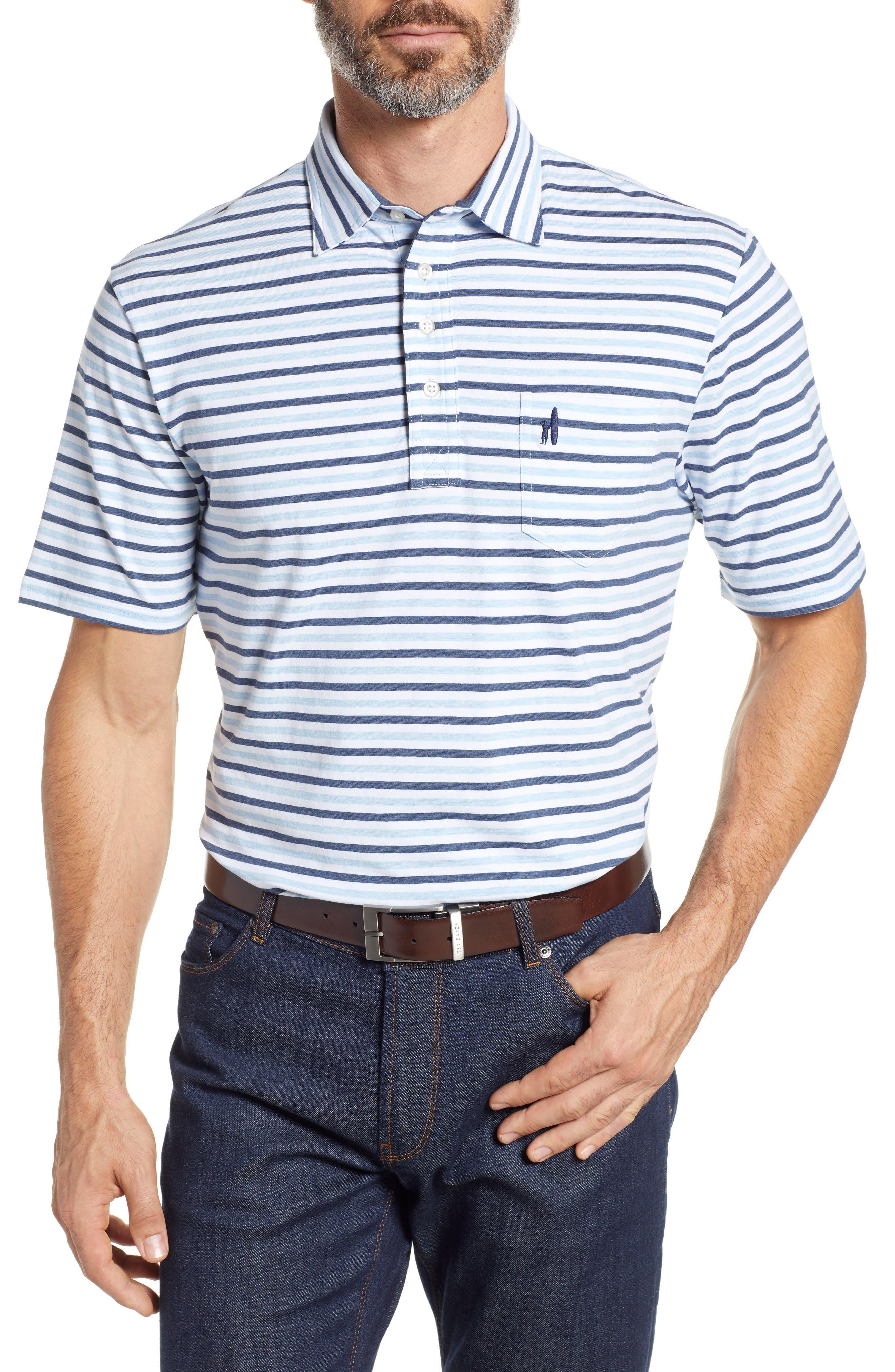 Palmetto Regular Fit Stripe Polo