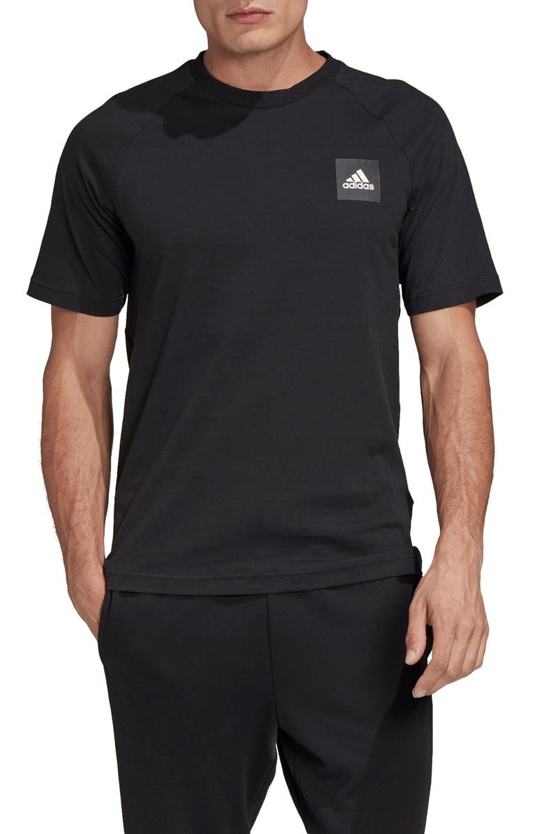 ADIDAS Must Haves Stadium T-Shirt, Main, color, BLACK